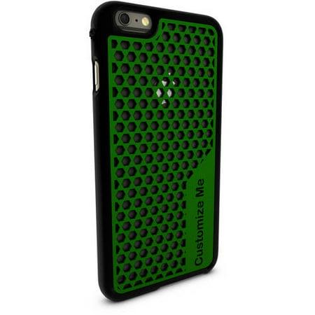 size 40 0ebcf 6f47a Apple iPhone 6 Plus Customized Phone Case, Multi-Hexagon Design ...