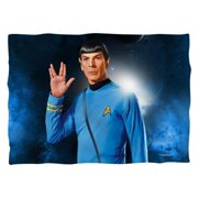 Star Trek Spock (Front Back Print) Poly 20X28 Pillow Case White One Size