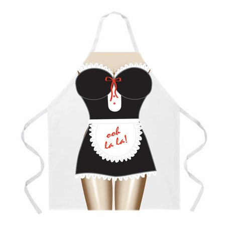 French Maid Aprons by LA Imprints Novelty Gift Kitchen Bar Grill Humor Funny