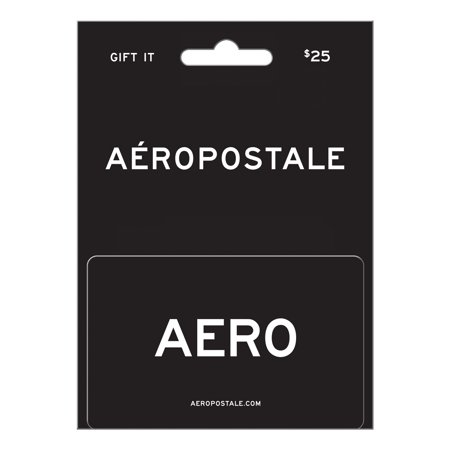 Aéropostale $25 Gift Card (Gift Cards From Amazon)