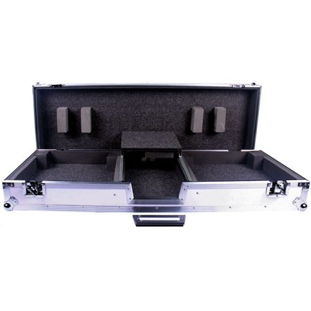 Deejayled TBHDJMS9LTWH Ddejayled Tour Ready Flight Road Case Road Ready Cases