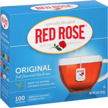 (4 Boxes) Red Rose: Original Tea Bags, 100 Ct ()