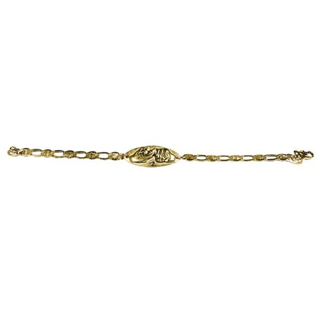 Friendship Bracelet - Gold](String Friendship Bracelets)