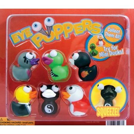 6 Vending Machine Toys - Cute Squishies Duck Eye Poppers Vending Toys - Random Set of 12