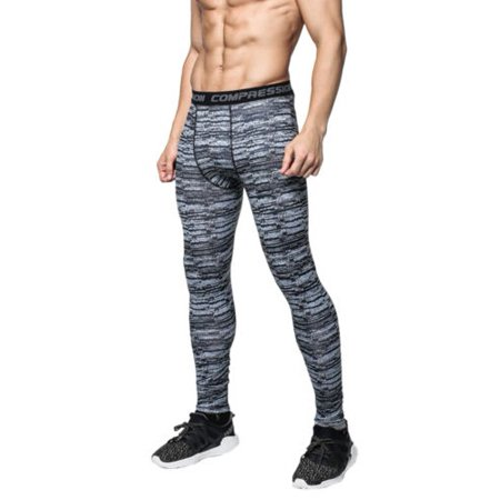 8af9d0b567b82 Mens Compression Pants Bodybuilding Jogger Fitness Exercise Skinny Leggings  Camo - Walmart.com