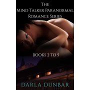 The Mind Talker Paranormal Romance Series - Books 2 to 5 - eBook