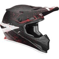 Thor Sector Hype Youth MX Offroad Helmet Black/Coral