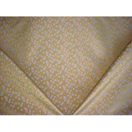 63C5 - Periwinkle / Mauve Woven Floral Brocade Designer To the Trade Upholstery Drapery Fabric - By the Yard
