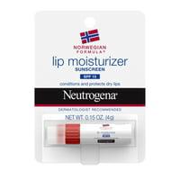 Neutrogena Norwegian Formula Lip Balm For Chapped Lips with SPF 15, 0.15 oz