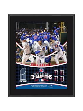 "Kris Bryant Chicago Cubs Fanatics Authentic 2016 MLB World Series Champions 10.5"" x 13"" Sublimated Plaque - No Size"