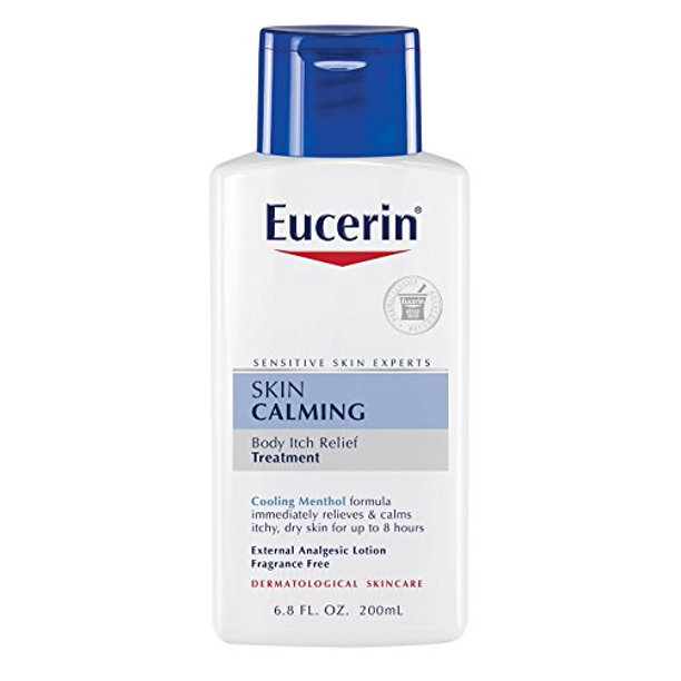 eucerin skin calming itch relief treatment