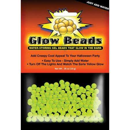 Glow in the Dark Beads, Halloween, Decorative Accents - Glow In The Dark Jewelry