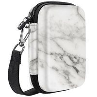 Fintie EVA Case for Polaroid Snap / Polaroid Snap Touch Instant Digital Camera / Polaroid ZIP Mobile Printer, Marble