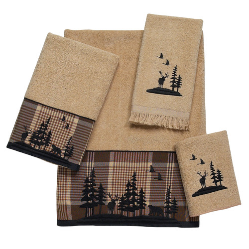 Avanti Linens Woodlands 4 Piece Towel Set