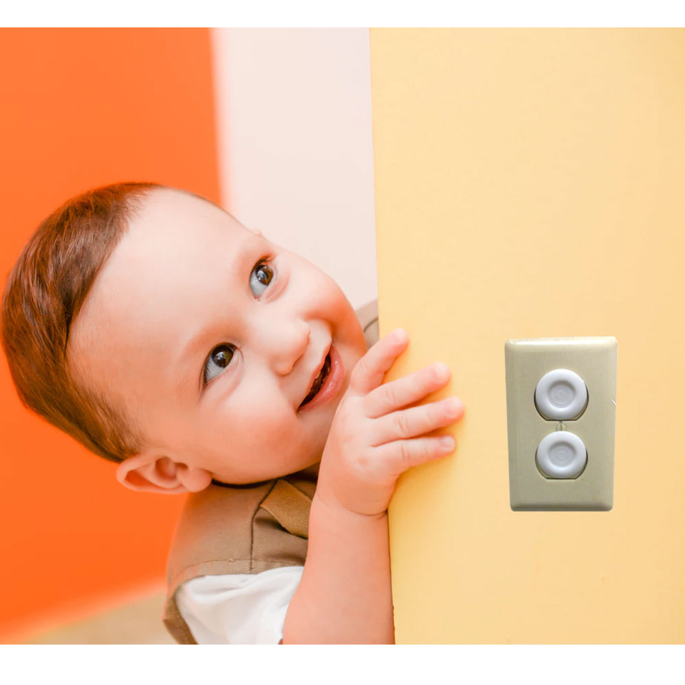 Child Safety Electrical Outlet Covers (Pack Of 20)