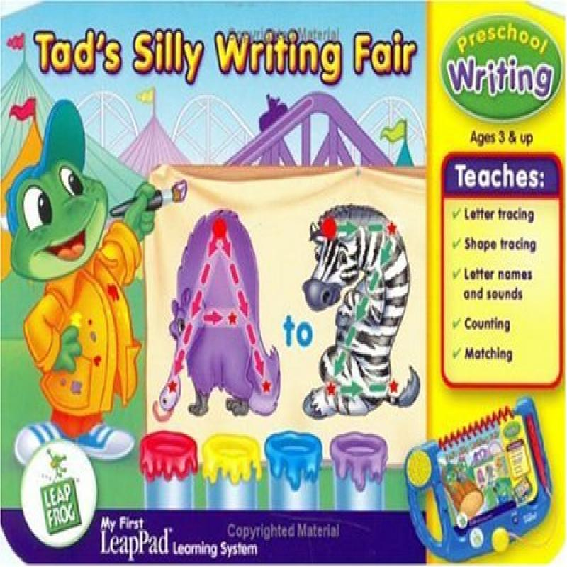 LeapFrog My First LeapPad Educational Book: Tad's Silly Writing Fair by LeapFrog Enterprises, Inc.