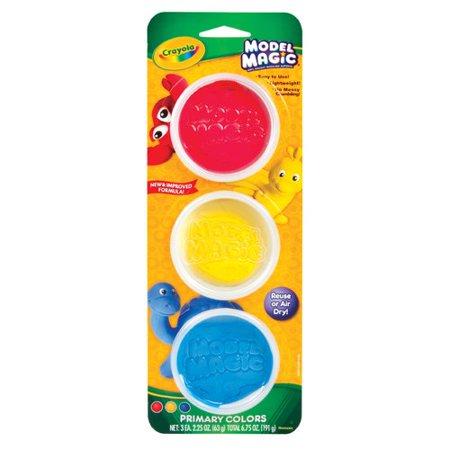 Crayola Model Magic Tubs Primary, 3 Count