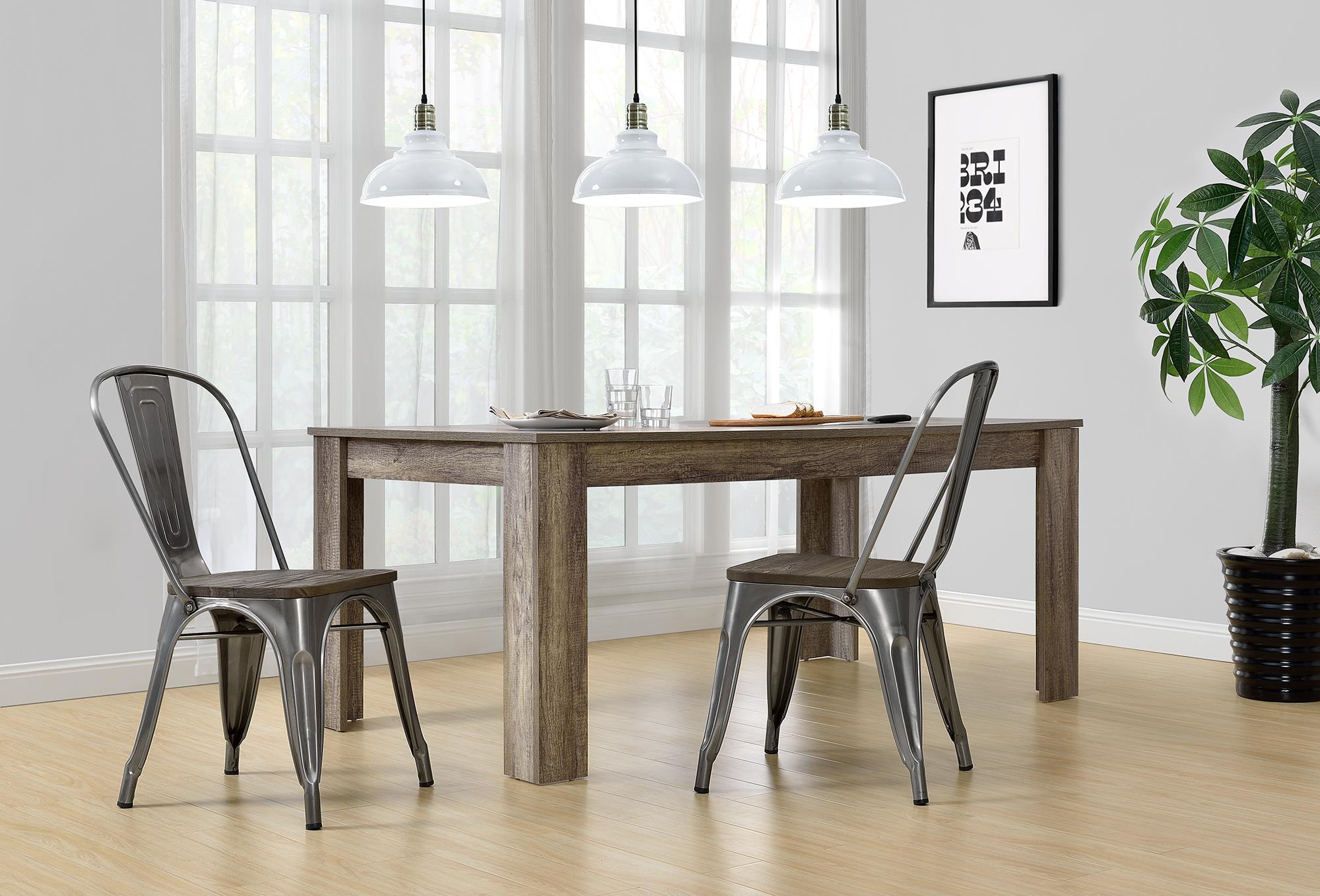 Click here to buy Better Homes and Gardens Aidan Metal Dining Chair with Wood Seat, Set of 2, Multiple Colors by Dorel Home Products.