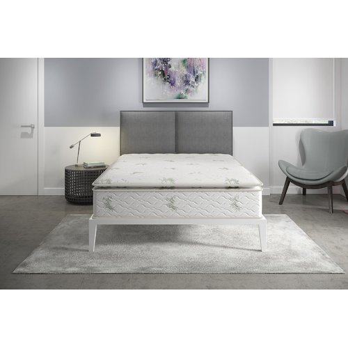 """Signature Sleep Independently Encased Coil Pillow Top 13"""" Innerspring Mattress"""