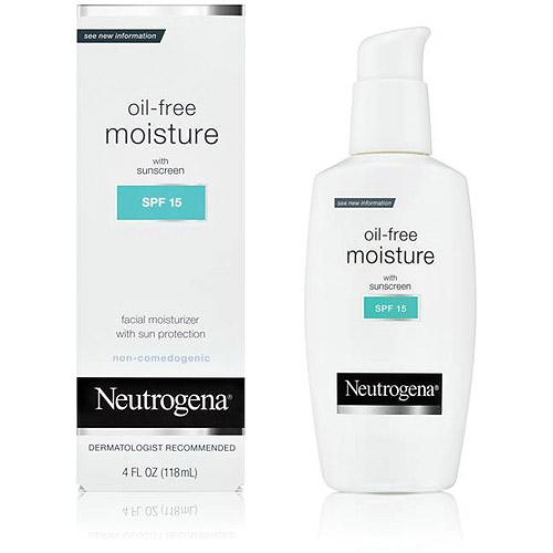 Neutrogena SPF 15 Oil Free Moisture, 4 fl oz