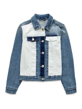 Wonder Nation Girls 4-18 & Plus Fashion Denim Jean Jacket