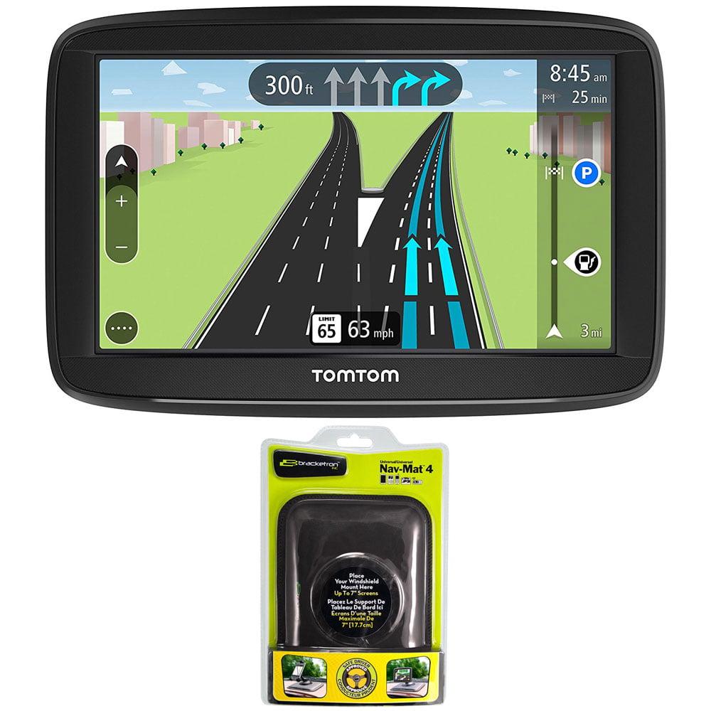 "TomTom VIA 1625TM 6"" Touchscreen GPS Navigation Device Lifetime Maps w  Dash Mount by TomTom"