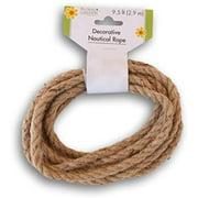 Floral Garden Decorative Nautical Rope - 9.5 Feet