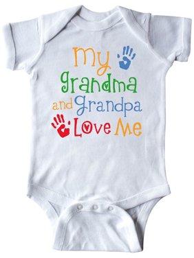 a2ae28ddb Product Image My Grandma and Grandpa Love Me Infant Creeper