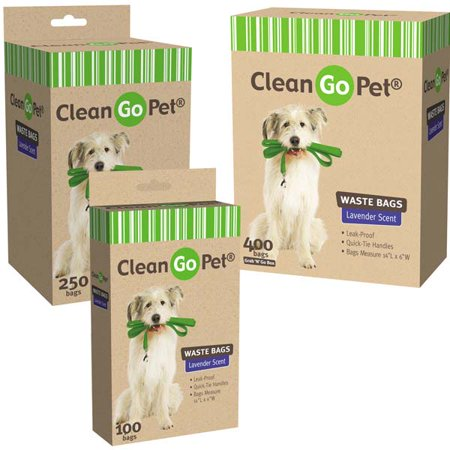 Clean Go Pet Lavender Scent Doggy Waste Bags 400 Ct Doggy Waste Bags