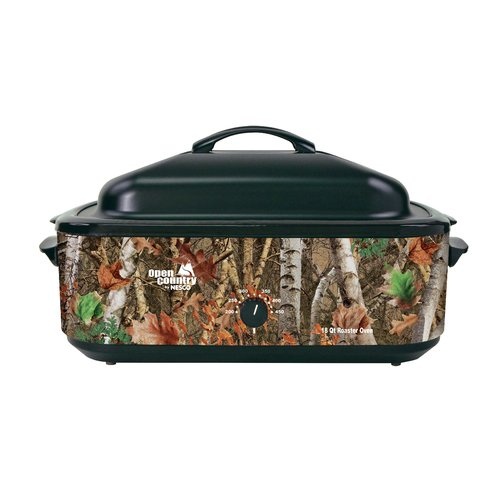 Nesco 4818-17 Open Country 18-Qt. Roaster in Woodland Birch Camouflage Design
