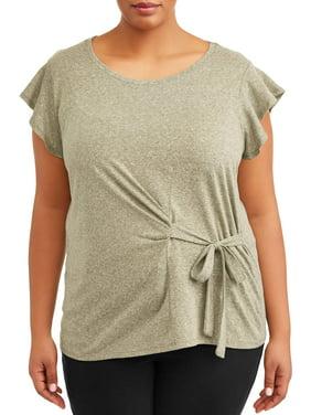 949fc3d5dc02a Womens Plus Blouses & Shirts - Walmart.com