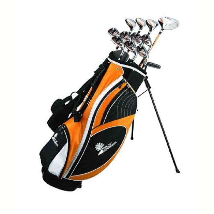 Palm Springs Golf VISA MENS GRAPHITE Hybrid Club Set & Stand Bag
