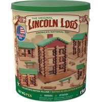 LINCOLN LOGS -Collector's Edition Village Tin - 327 Pieces