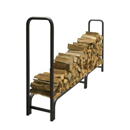 8-Ft Heavy Duty Log Rack