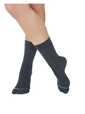 57445066a8 Product Image Tommie Copper Womens Dress Micro Compression Crew Socks  Charcoal Size 4-6.5