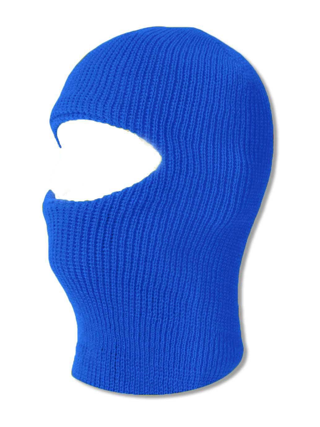 TopHeadwear Face Ski Mask 1 Hole Royal by TOP HEADWEAR