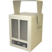 King KBP2406 240V 6000W Fixed Mount Garage Heater, White