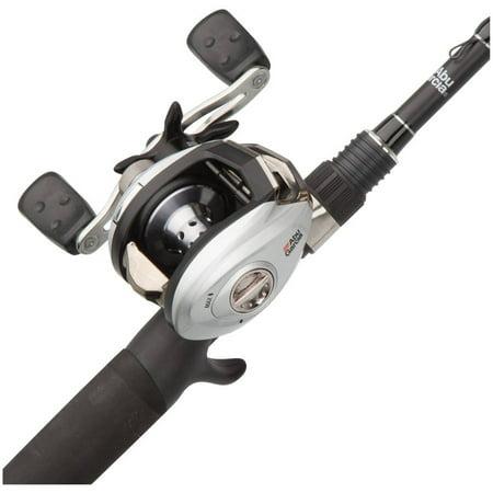 Abu Garcia Silver Max Low Profile Baitcast Reel and Fishing Rod Combo
