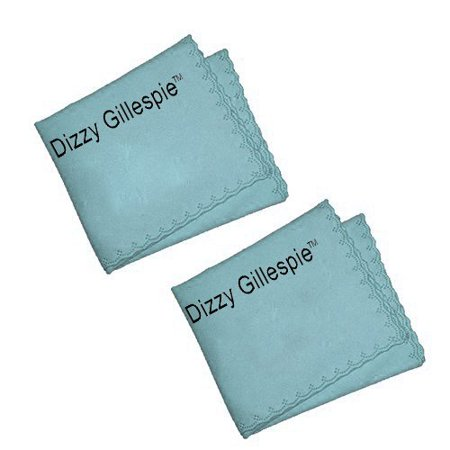 Dizzy Gillespie French Horn Cleaning Cloth 2 Pack- Ultimate Microfiber French Horn Cleaner