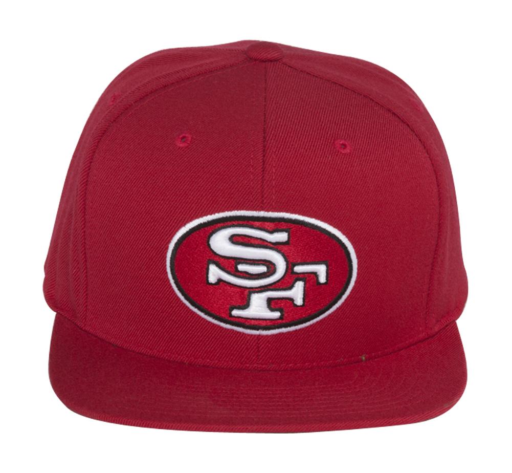 San Francisco 49ers Mitchell & Ness Throwback Logo Snapback Adjustable Hat