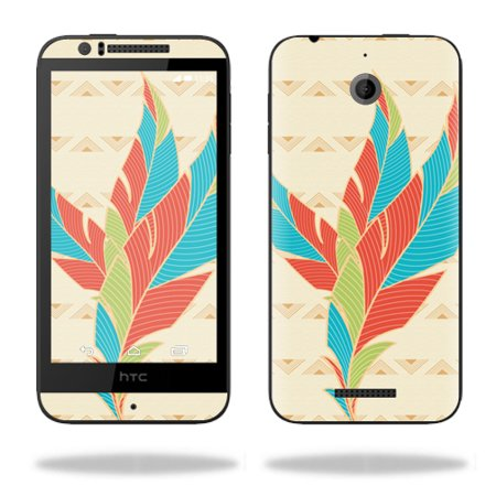 MightySkins Protective Vinyl Skin Decal for HTC Desire 510 wrap cover sticker skins Tribal Feather