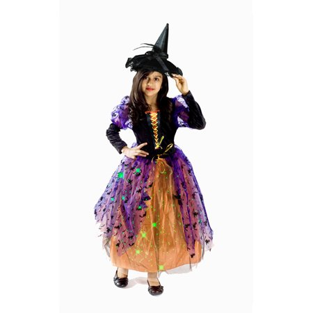 Witch Halloween Costume Girls M (Wayne's World Girl Halloween Costumes)