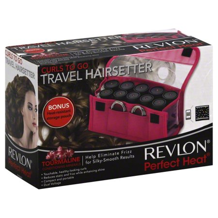 Travel Hot Rollers (Revlon Curls-to-Go 10 Piece Travel Hot Rollers )