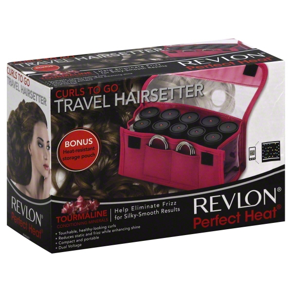 Revlon Perfect Heat Travel Hair Setter, 10 Rollers, 1 set