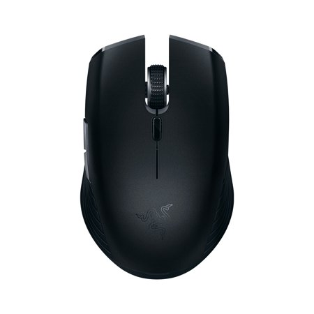 Razer Atheris Bluetooth Wireless Mouse Ambidextrous Mini Portable Gaming Mouse 7200 DPI Optical Sensor 2.4 GHz for Work and Play