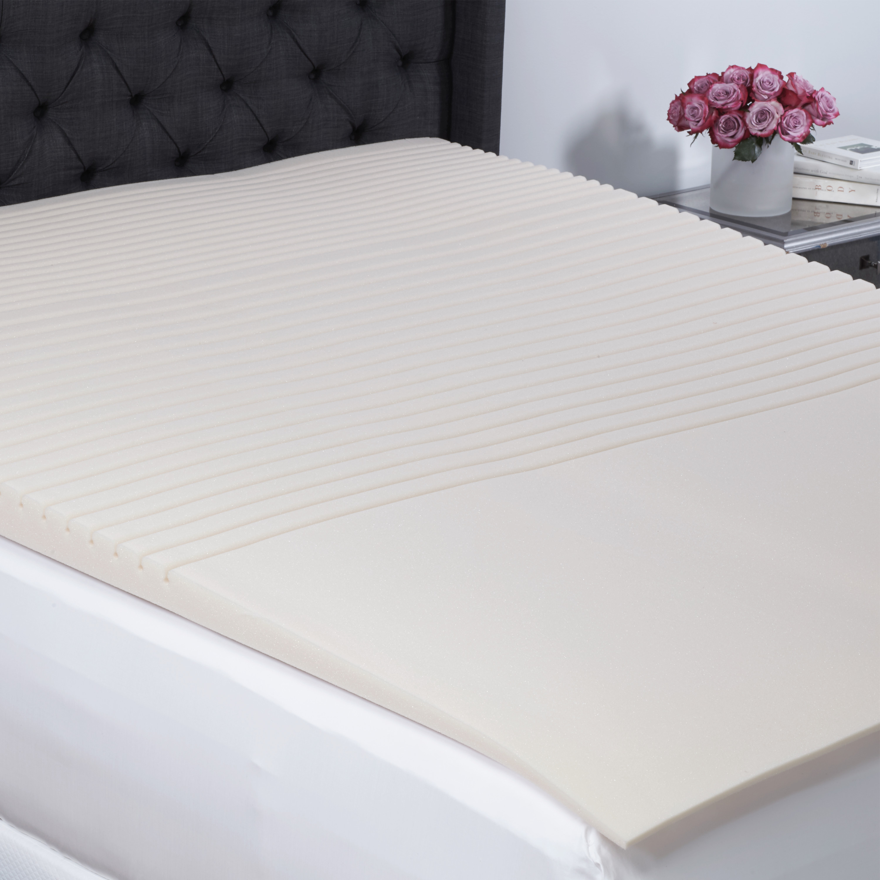 Beautyrest Geo-Incline Memory Foam Mattress Topper in Multiple Sizes