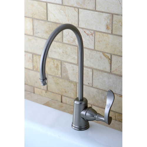 Kingston Brass Century Gourmetier Water Filtration Kitchen Faucet