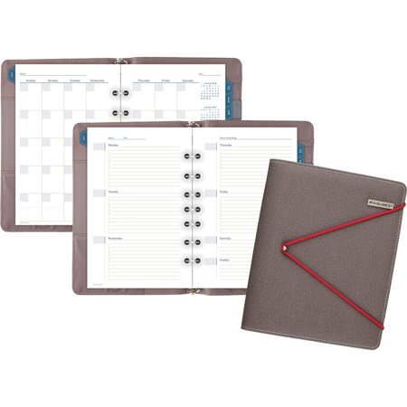 At-A-Glance, AAGDR110704013, Red Bungee Undated Desk Starter Set, 1 Each, Multi