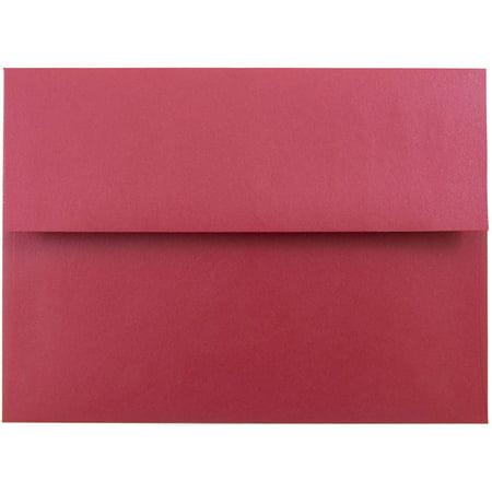 jam paper a7 invitation envelope 5 1 4 x 7 1 4 stardream metallic