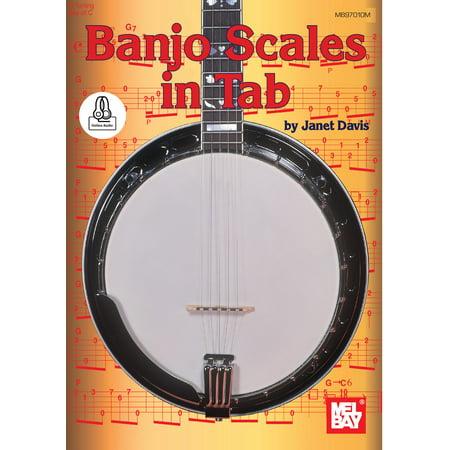 Banjo Scales in Tab - eBook